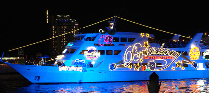 2015 Winterfest Boat Parade held in Fort Lauderdale, Florida