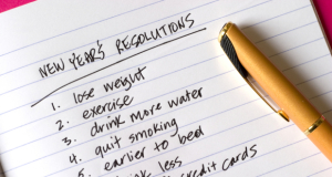 New Year's Resolutions for Men