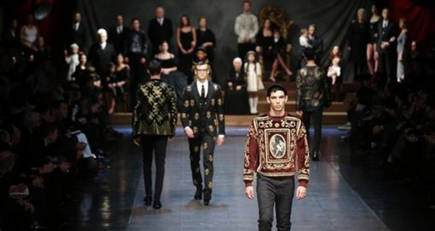 Italy Fashion Dolce Gabbana