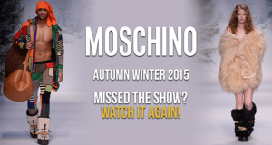 Moschino Autumn Winter 2015 London mens Fashion Week