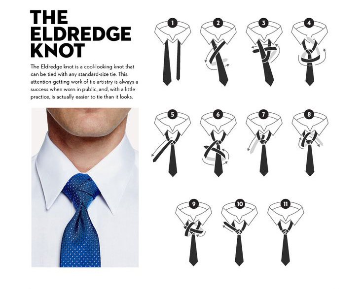 Tying the eldredge knoe tying the eldredge knot the eldredge tie ccuart Image collections